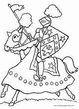 Medieval Ritter Malvorlagen Ausmalbilder Coloring Kostenlose Basteln Ritterburg Classroom Mittelalter Ridders Kastelen Theme Ausmalen Piraten Kindergarten Printable Zum Kinder Playmobil sketch template