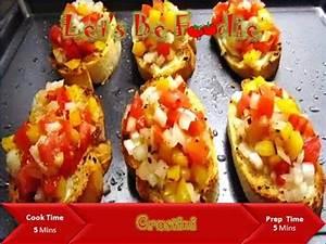 Crostini recipe/ Italian evening snacks and starter recipe ...  Italian
