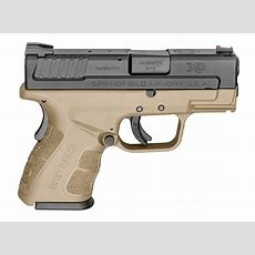 Xd Mod2 Subcompact 9mm Handgun With Gripzone Grip Texture
