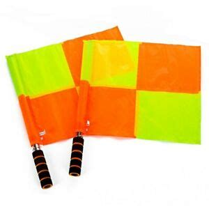 Football Linesman Flags With Pouch Premier League ...