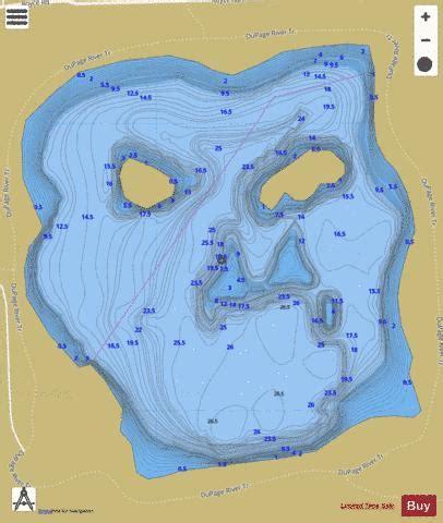 whalon lake fishing map nautical charts app