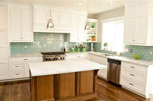 gallery for gt kitchen backsplash glass tile white cabinets