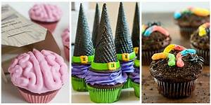 16 Easy Halloween Cupcake Recipes - Halloween Cupcake ...