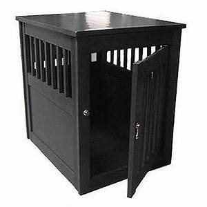 1000 ideas about dog crate table on pinterest dog crate With black dog crate furniture