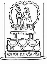 Coloring Pages Cake sketch template