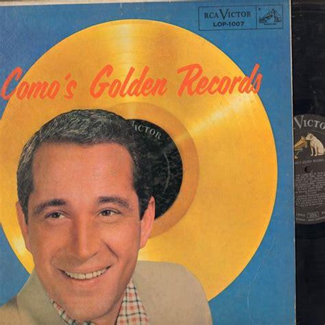 perry como wanted como s golden records temptation papa loves mambo