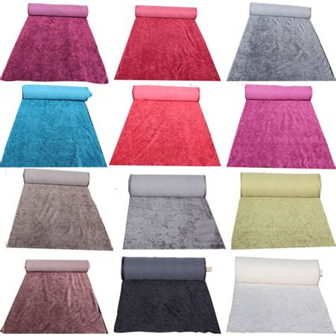 Fabrics For Curtains And Cushions by Luxury Thick Upholstery Velvet Chenille Fabric For Sofas