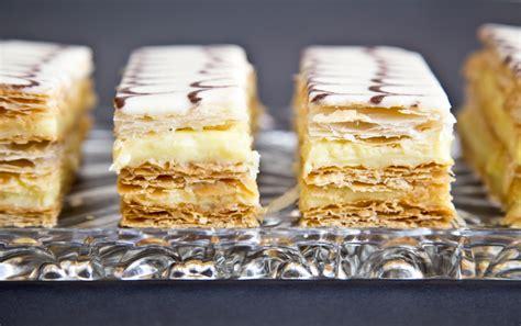 Napoleons (Mille-Feuille)   Recipe   Napoleon dessert ...