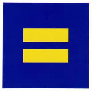 Equal Sign Bumper-Sticker