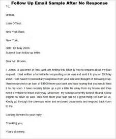 follow up email after sending resume and cover letter sle follow up letter after no response cover letter templates