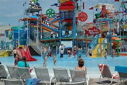 Hd Waterpark Casino Pier Beach Breakwater States