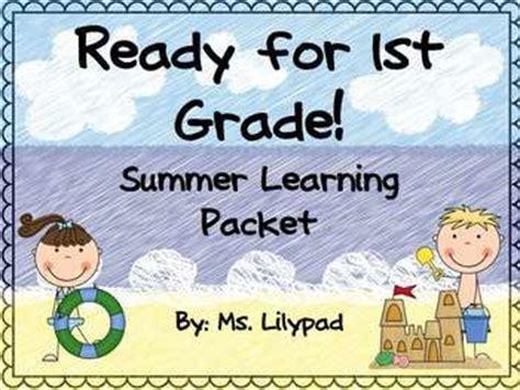 Summer Homework Pack For Rising First Graders (who Have Completed Kindergarten)  Don't Let