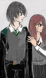 Severus Snape and Lily Evans by antiKira on DeviantArt