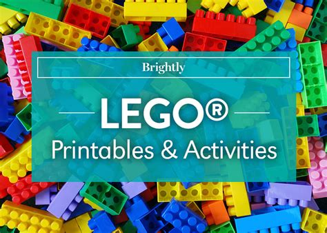 lego printables  activities brightly