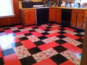 vintage kitchen installed flooring vinyl printed vinyl tile eclectic kitchen york by
