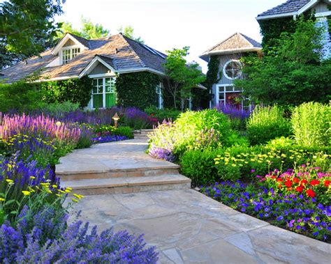 traditional front yard landscaping front yard renovation traditional landscape other by designscapes colorado inc
