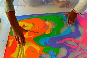 Quick Play Idea with colorful oobleck