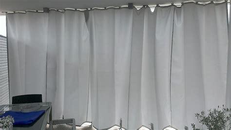 outdoor vorhaenge balkonvorhaenge gardinen fuer den