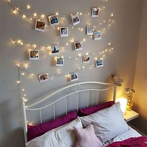 Totally, Inspired, By, Lisa, Dawson, Fairy, Lights, Photo, Wall, Polaroid, Pictures, Dou