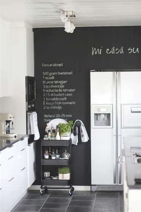 ardoise deco cuisine aménagement et décoration cuisine en 30 idées exquises