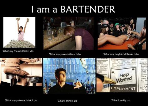 Funny Bartender Memes - whatpeoplethinkido 03 bartender uproxx tattoo pinterest bartenders humor and bar jokes