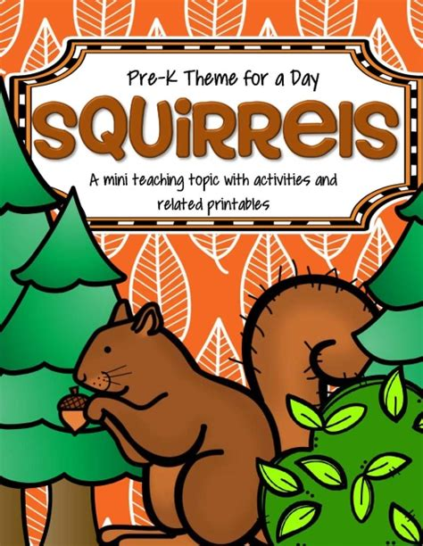 squirrels theme math and literacy activities and centers 940 | s502260936815463319 p602 i1 w640
