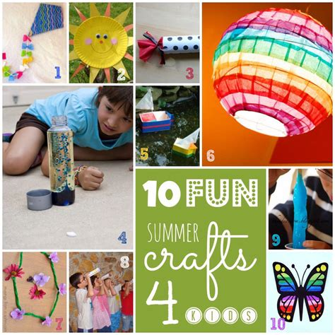 diy summer arts crafts project ideassimple cheap