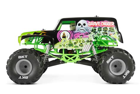 grave digger monster truck toys axial yeti xl 1 8 4wd electric monster buggy kit