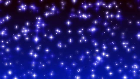 blue twinkling stars  ramp stock footage video