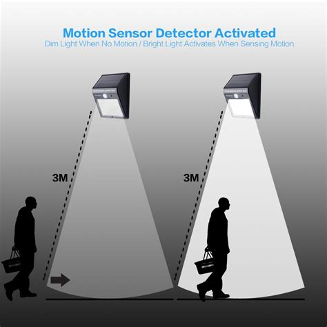 motion activated decorations uk keimavgear 2pack 12 bright led wireless solar