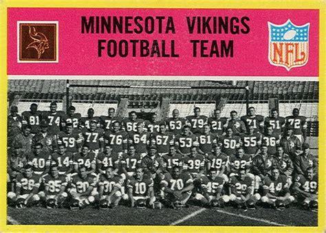 football cards minnesota vikings