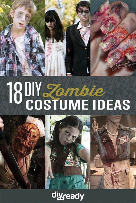 diy zombie costume ideas diy ready