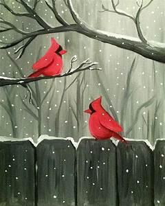 Paint Nite: Winter Visitors