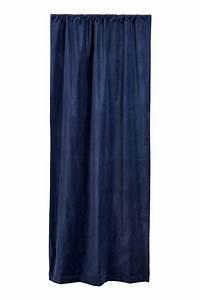 Rideaux Velours Bleu : rideau en velours pinterest rideaux en velours velours bleu et bleu fonc ~ Teatrodelosmanantiales.com Idées de Décoration