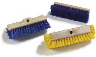 polypropylene deck scrub brushes carlisle foodservice