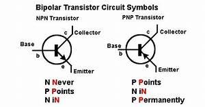 Transistor Circuit Symbols Corrente Convenzionale  Dal