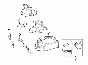 2015 Toyota Land Cruiser Vacuum  Valve  Related  Bay