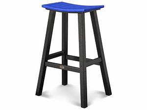 About A Stool : polywood contempo recycled plastic saddle bar stool 2012 ~ Buech-reservation.com Haus und Dekorationen