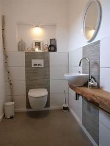 Kleines Gäste Wc Optisch Vergrößern : die besten 20 wc fliesen ideen auf pinterest kleine toilette design wc design und wei e fliesen ~ Bigdaddyawards.com Haus und Dekorationen