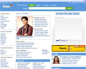 New! MSN India Homepage | Writing for sharing