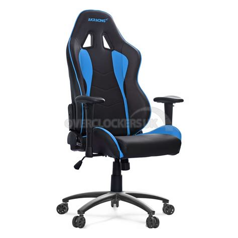 chaise bureau gaming ak racing nitro gaming chair blue ocuk