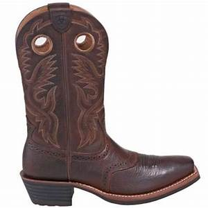ariat 10002227 men39s brown square toe heritage cowboy boots With cowboy boots pensacola