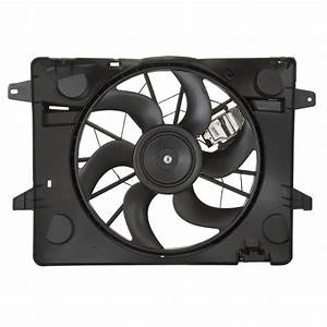 2005 Mercury Grand Marquis Cooling Fan Assembly