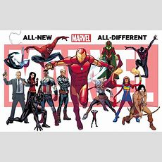 10 Things You Should Know About Allnew Alldifferent Marvel Newsaramacom
