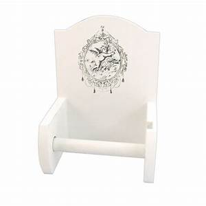 Dérouleur De Papier Toilette : d rouleur de papier toilette en bois d co ange provence ~ Teatrodelosmanantiales.com Idées de Décoration