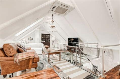 Inneneinrichtung Neuer Komfort Unterm Dach by Wohnen Unterm Dach Luxuri 246 Se Mansarde In Stockholm
