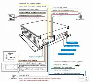 Ovi Car Alarm Security System Pke Engine Start Stop System