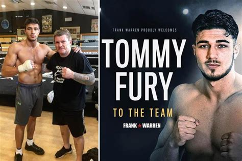 Fury's brother signs pitches tent with Frank Warren | Plus ...