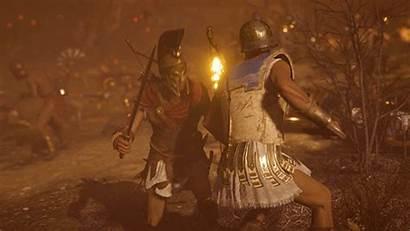 Odyssey Sparta Kick Creed Gifs Assassin Acodyssey