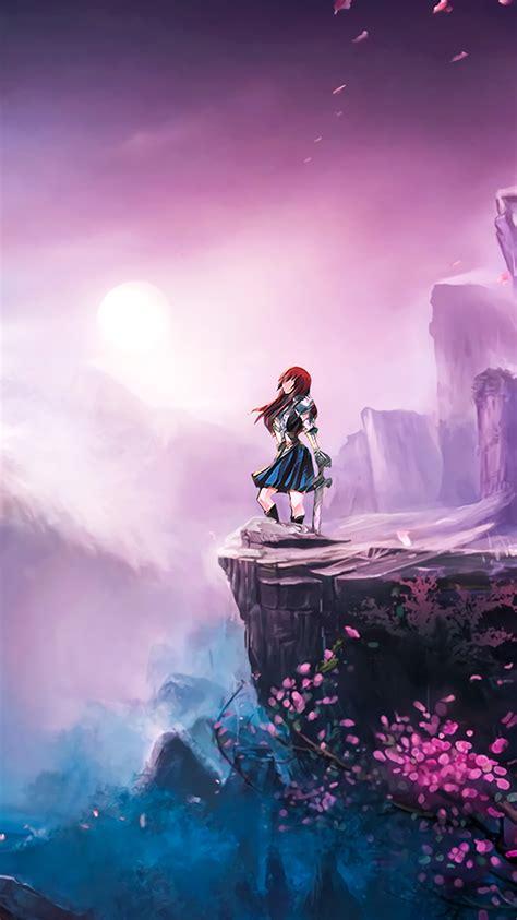 bc anime girl spring japan art illustration wallpaper